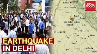 Earthquake Tremors Felt In Delhi-NCR And Several Parts Of North India
