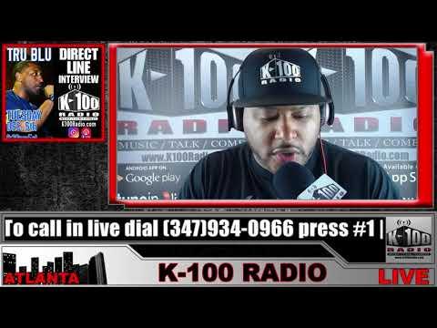 Direct Line Interview with DJ Tru Blu on K-100 Radio