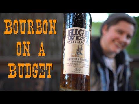 Bourbon On A Budget- High West American Prairie Bourbon Review