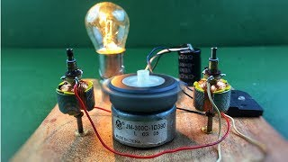 How to make 100% free energy generator using dc motor without battery , Home invention thumbnail