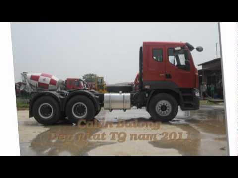Xe Dau keo ChengLong- Hai Au- Dong co Yuchai  375 HP- Moi 2012 Lien He- 0985 981 801.mpg