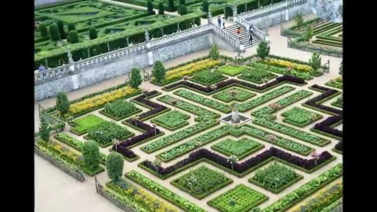 Chateau Villandry Gardens In Loire Valley From Experienceloire Com