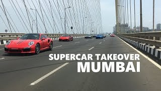 When Supercars takeover Mumbai ! Supercars in India