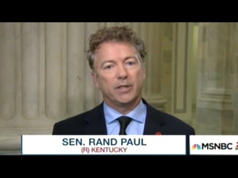 Rand Paul Explains Why Rudy Giuliani Or John Bolton Are Horrible Choices For Secretary Of State