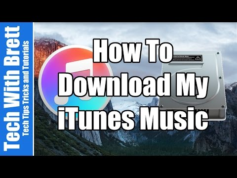 How To Download ITunes Music Library To Mac Or Windows | Apple 101