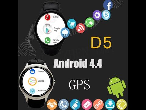 NO1 D5 ANDROİD 4.4.2 AKILLI SAAT İNCELEMESİ ( NEALİYİM.COM )
