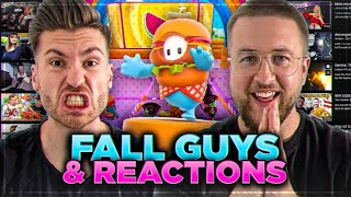 GUDDEE MORGE 😱🔥 Entspannte REACTIONs + FALL GUYS RUNDE am Morgen !!