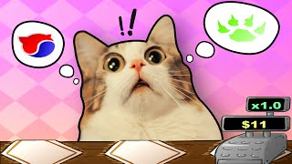cracked out kitties cat cafe tablet game