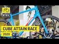 Produktvorstellung Cube Attain RACE 2020 | Geschmeidige Einsteiger Rennmaschine