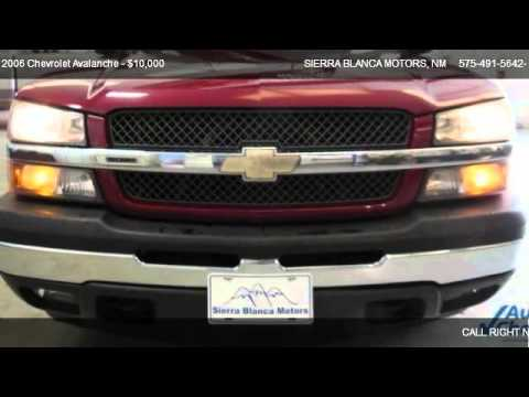 2006 Chevrolet Avalanche Ls For Sale In Ruidoso Nm