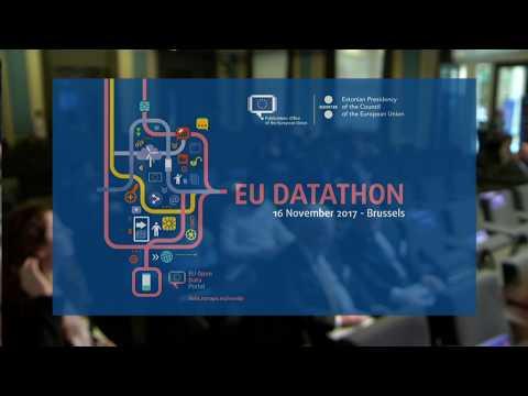 EU Datathon 2017 final event livestream