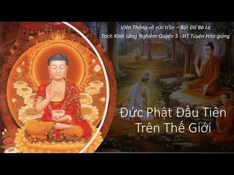 Đức Phật đầu tiên trên thế giới | HT Tuyên Hoá giảng