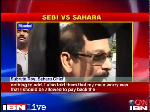 SEBI wasted time by not verifying base of investors Sahara c