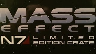 Mass Effect Limited Edition Loot Crate Unboxing