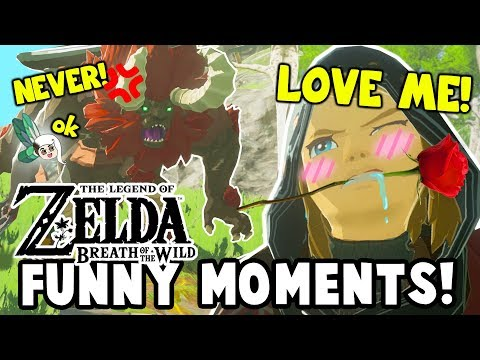 HOW TO TAME A LYNEL?! (Zelda: Breath Of The Wild Funny Moments)