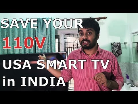 How To Use USA Made Appliances In INDIA