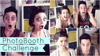 Photo Booth Challenge with Sawyer | Zoella Thumbnail