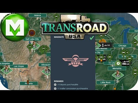 TransRoad USA: Expansion working towards a transport Magnate