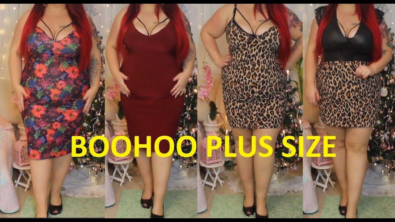 plus size fashion haul boohoo dezember :)   große grÖßen shoppen   xxl    deutsch
