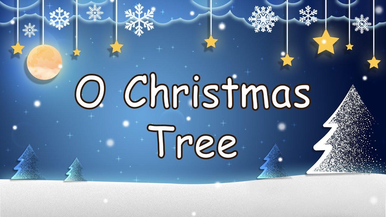 O Christmas Tree   Christmas Carol lyrics   Nursery Rhymes   SHERLOCK-MYOMYO - YouTube