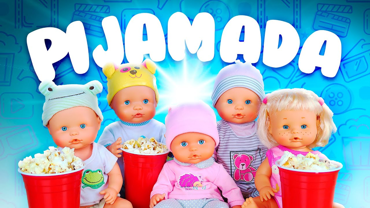 Rutina de noche de mis bebés NENUCO -  Fiesta de Pijamas | La guarderia Nenuco #10