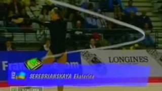 EC 1998 PORTO Ekaterina Serebrianskaya UKR Ribbon AA