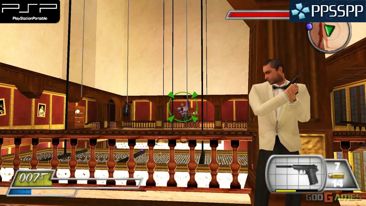 007 From Russia With Love Psp Gameplay 1080p Ppsspp Youtube
