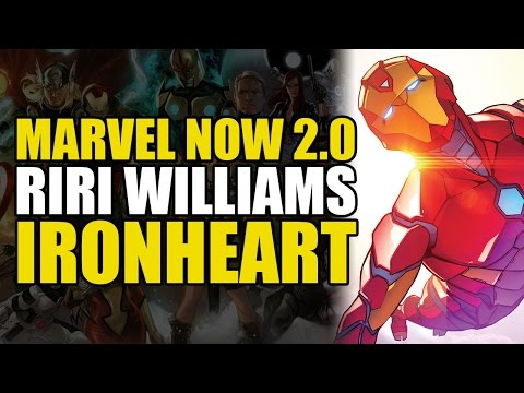 Riri Williams: The New Iron Man (Marvel NOW 2.0 Invincible Iron Man Vol 1: Ironheart)