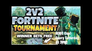 Live Custom Tournament! WWC Tournament with VBUCK Prizes! (Season X) Fortnite Battle Royale!