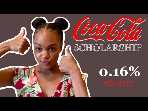 How I won the Coca-Cola Scholarship! | The Most Competitive U.S. Merit Scholarship