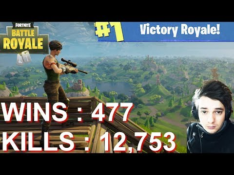 [FR/PC/LIVE] Fortnite en solo 477 wins!