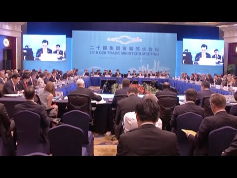 G20 Trade Ministers Meeting Kicks off in Shanghai