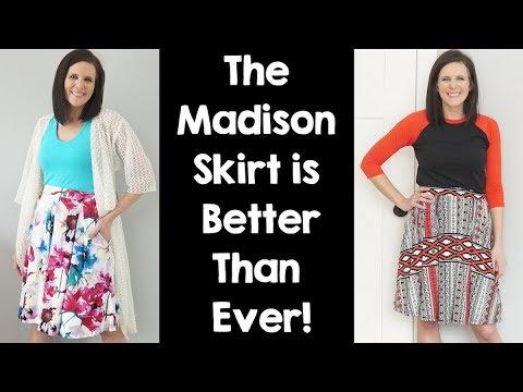 The LuLaRoe Madison Skirt Has New Prints!
