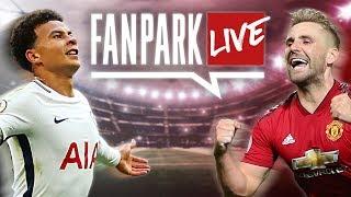Tottenham 0-1 Manchester United - Live Stream | English Premier League | FanPark Live