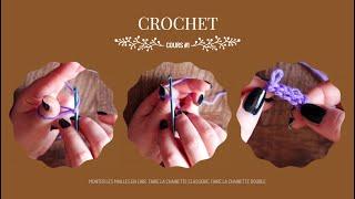 Cours Crochet #1 les bases