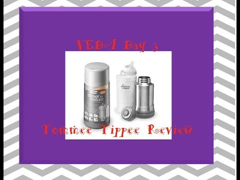 VEDA Day 3: Tommee Tippee Travel Bottle Warmer Review