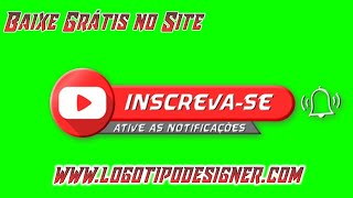 Inscreva se #09 Chroma Key Green Screen Grátis Free Use