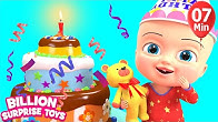 Billionsurprisetoys Nursery Rhymes Songs Youtube