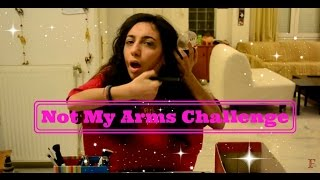 Not My Arms Challenge | Βραδινή Έξοδος || fraoules22