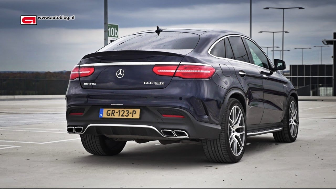 mercedes-amg gle 63 s coupe review - youtube