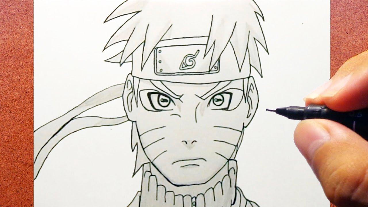 Conhecido Como Desenhar Naruto Shippuden   Modo Sennin - YouTube SN52