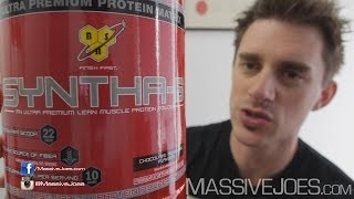 BSN Syntha-6 Meal Replacement Protein Powder Review - MassiveJoes.com RAW REVIEW Syntha6 Six