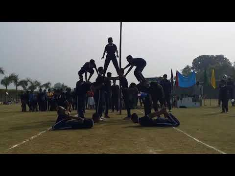 Outstanding pyramid performance performed by students of CIS Academy