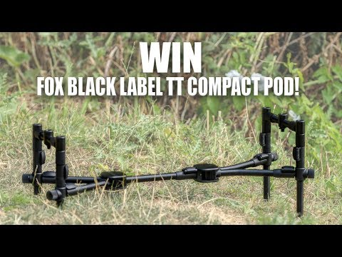 Fox Black Label TT Compact Pod Competition - Exclusive To Total Fishing Tackle