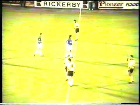 Carlisle United 3 V Colchester United 0 Tuesday October 1st 1996 Division 3