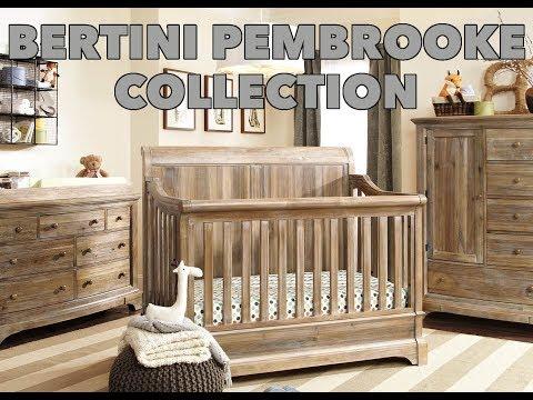 Bertini Pembrooke Convertible Crib Collection