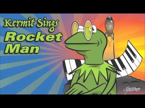 """Kermit The Frog sings Elton John's """"Rocket Man"""""""