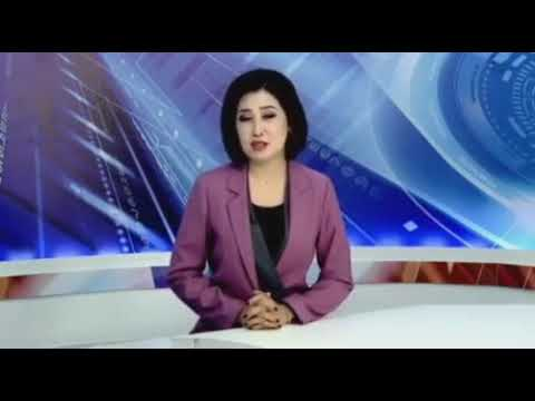 kazakhstan news reporter sounds like diesel truck starting i
