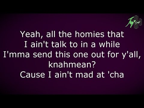 Tupac Shakur - I Ain't Mad At Cha | Lyrics