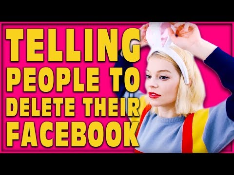 ( MARS ARGO SOCIAL EXPERIMENT ) TELLING PEOPLE TO DELETE THEIR FACEBOOK